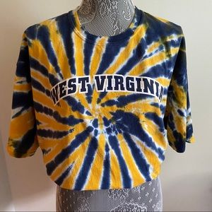 West Virginia tie dye graphic tee